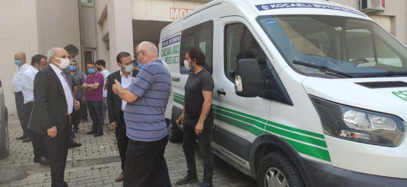 Kocaeli Gümüşhane Dernekler Federasyonu Başkanı Süleyman Olgun öldü