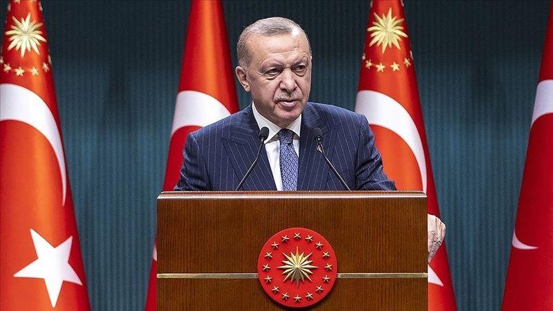 Cumhurbaşkanı Erdoğan'dan afet bölgesi açıklaması