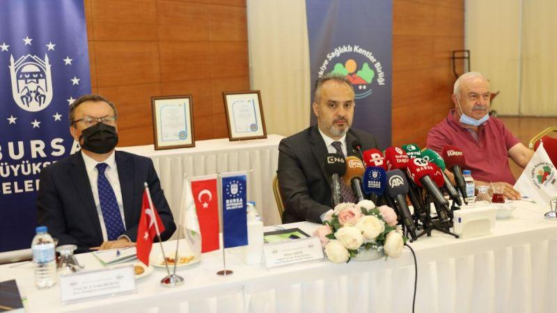 Başkan Aktaş Bursa'nın 'sağlıklı şehir' sürecini anlattı
