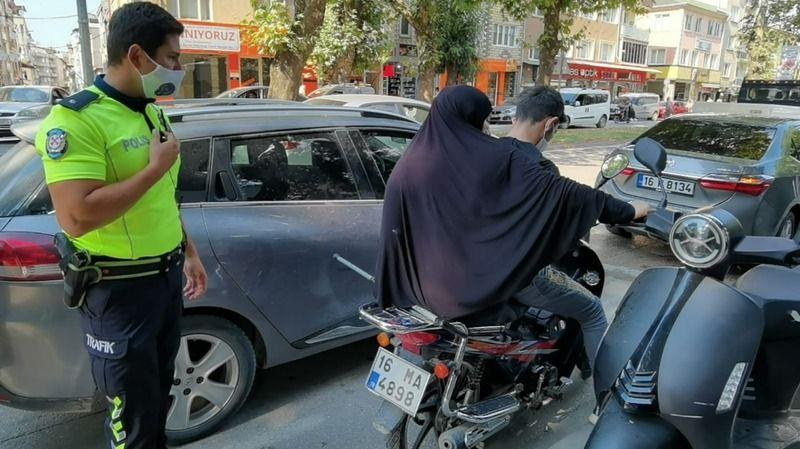 Bursa polisinden takdir edilecek hareket