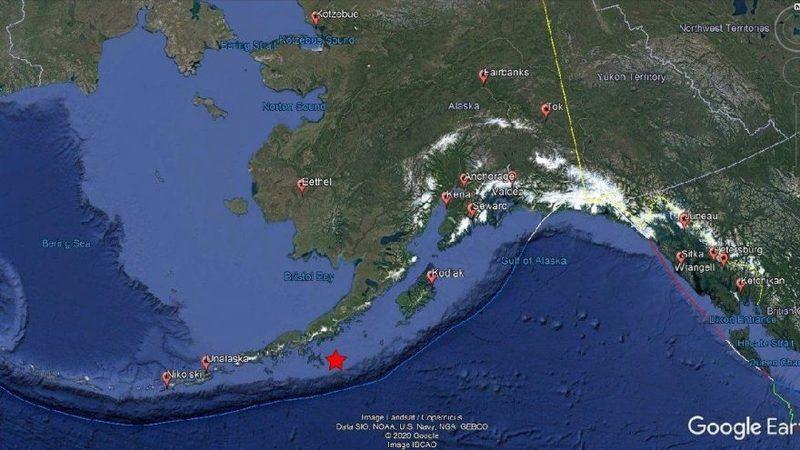 ABD'de 8.2 büyüklüğünde deprem