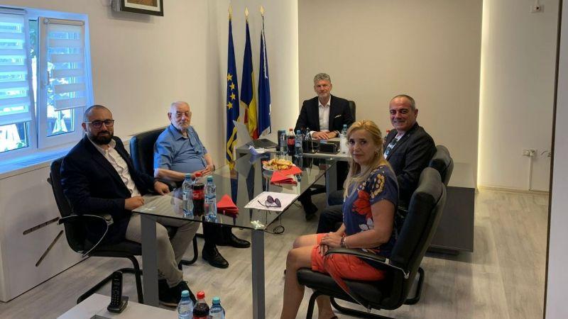 Gemlik Belediyesi'nden Navodari'ye ziyaret