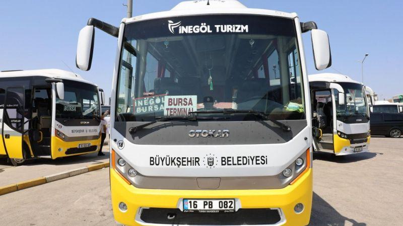 Bursa toplu taşımaya 'tam' entegre oldu