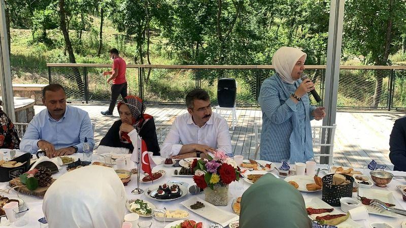 Balaban Kadınlar Tarımsal Kalkınma Kooperatifi'nden kahvaltı keyfi