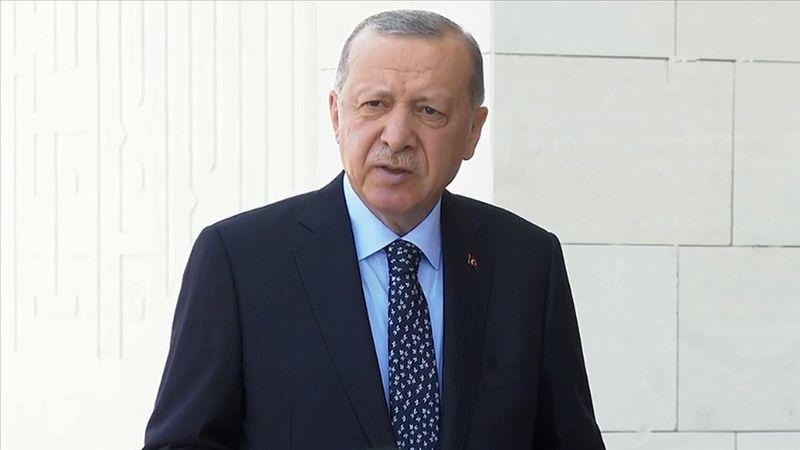 Cunhurbaşkanı Erdoğan'dan 'yangın' açıklaması