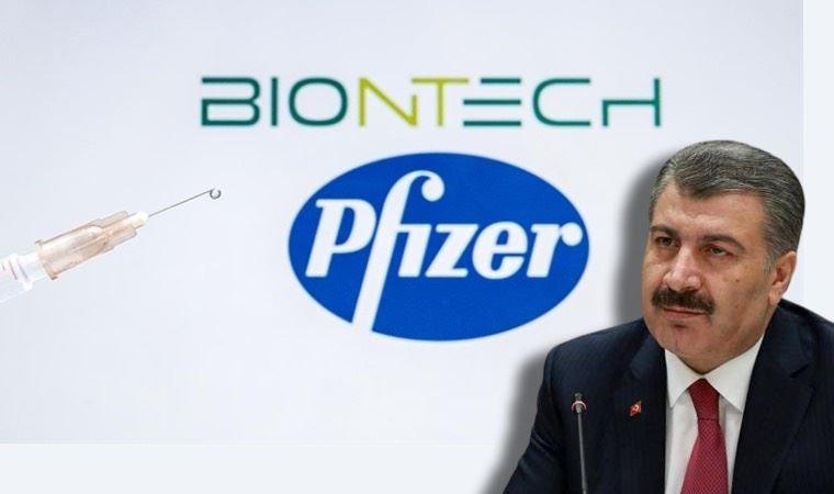Bakan Koca'dan biontech açıklaması
