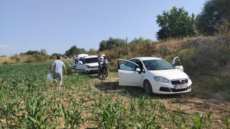 Bursa'da otomobil çaldıkları öne sürülen 4 kişiden 2'si yakalandı