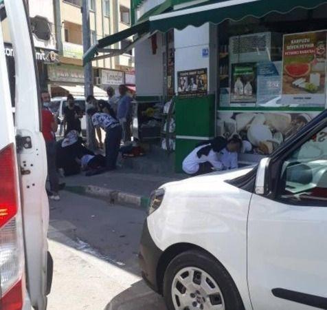 Bursa'da mağazanın içinde zehirlenip yere yığıldılar