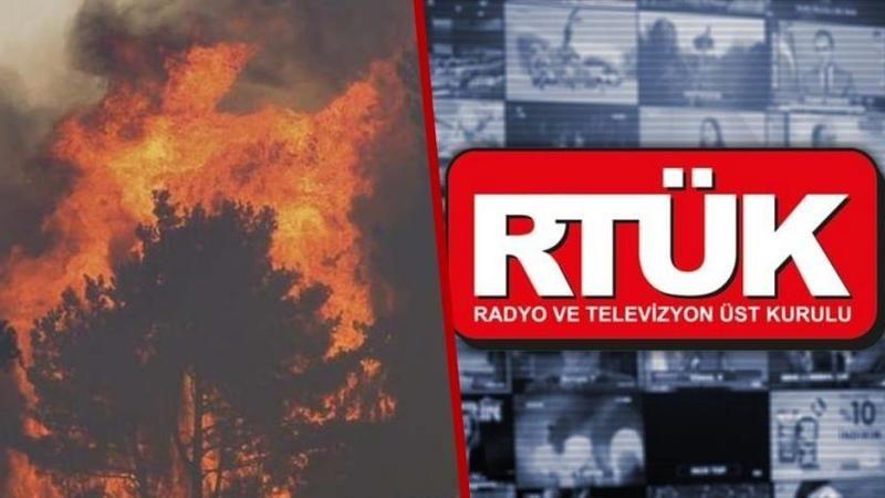 RTÜK orman yangınları konusunda yayıncı kuruluşları uyardı