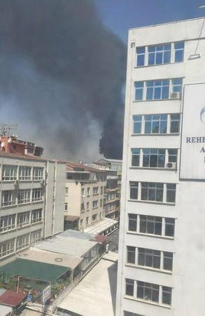 Ankara'da yangın çıktı