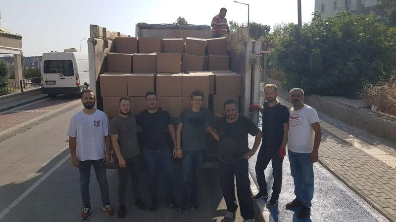 Nilüfer'de yardım seferberliği devam ediyor