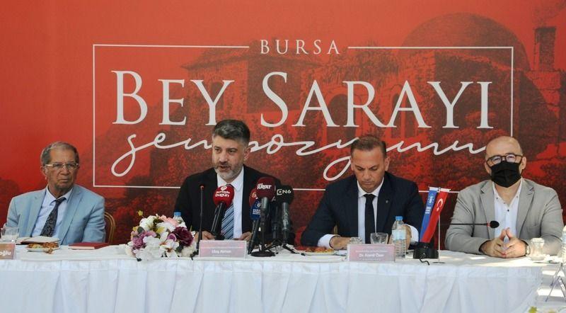 Bursa'da Osmanlı'nın ilk sarayı mercek altında