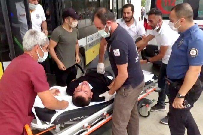 Bursa'da otobüs şoföründen örnek hareket