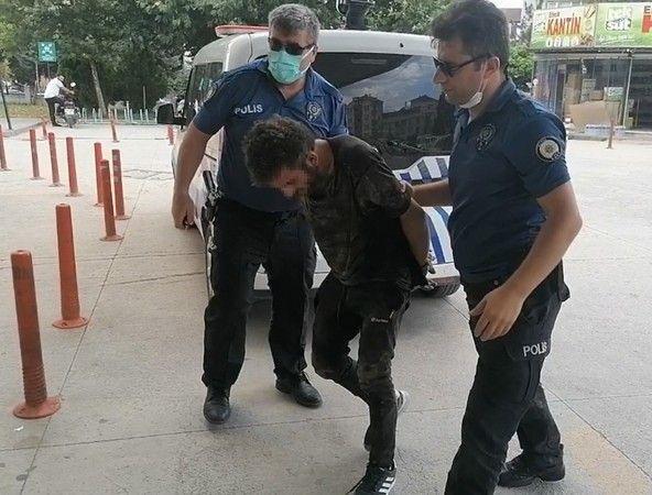 Bursa'da hırsızlık yapan şahıs yakalandı