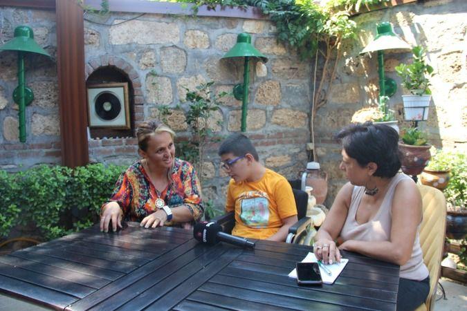 Serebral Palsi hastası Yağız'ın İyilik Karavanı Bursa'daydı