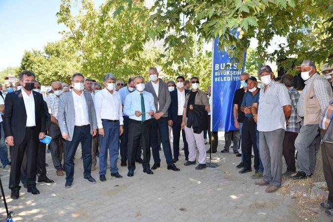 Bursa'da sel mağduru çiftçiye destek