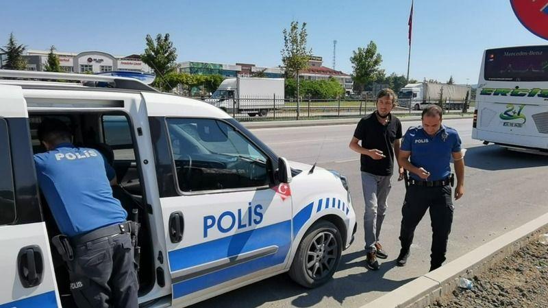 Bursa'da hırsızlık zanlısı otobüste yakalandı