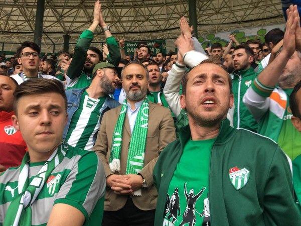 Alinur Aktaş'tan Bursaspor'a destek