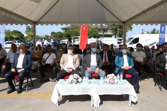 Bursa'dan Mudanya'ya destek merkezi