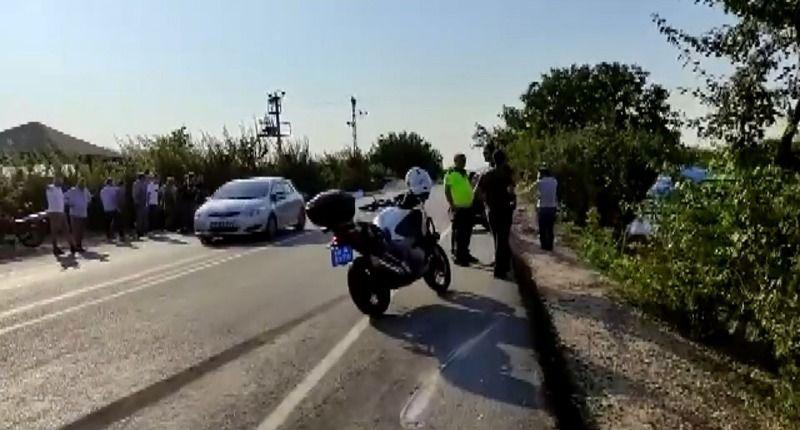 Bursa'da tır ile traktör çarpıştı