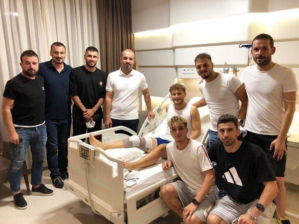 Bursaspor'un genç oyuncusu ameliyat oldu