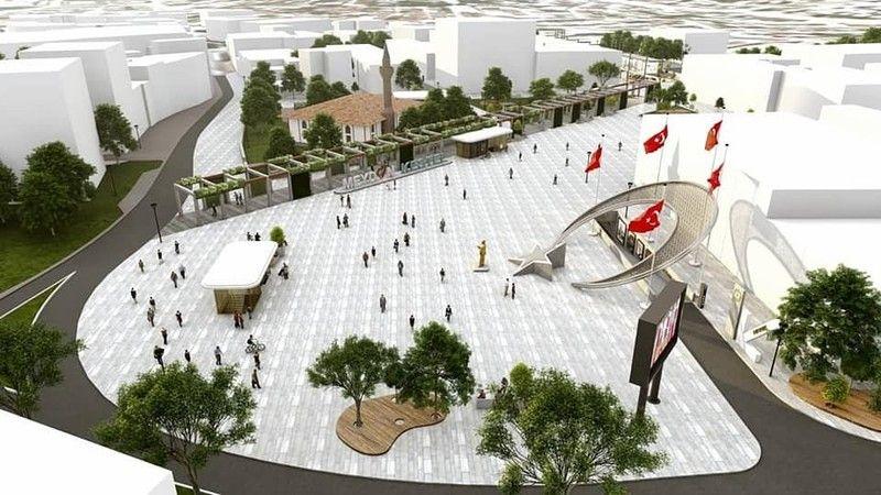 Kestel Belediyesi'nden vizyon projesi: Meydan Kestel