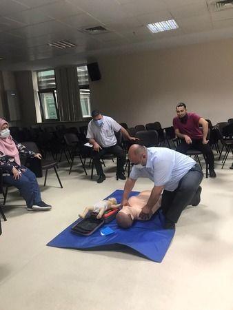 Burulaş personeline ilk yardım eğitimi