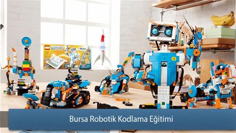 Bursa'da çocuklar robotik kodlama öğrenecek