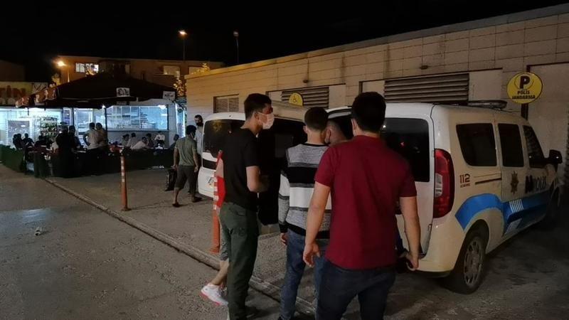 Bursa'da yabancı uyruklu şahıslar yakalandı