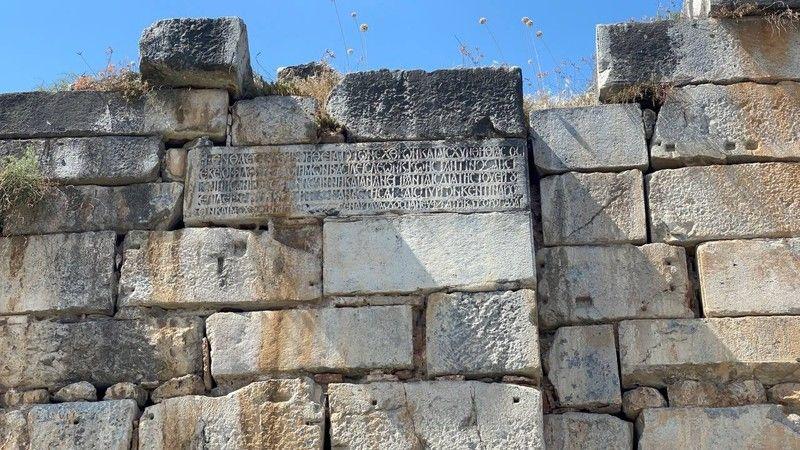 İznik'teki kitabenin sırrı çözüldü