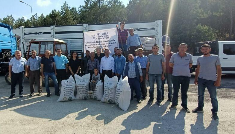 Bursa Büyükşehir Belediyesi, Bursa İli Damızlık Koyun-Keçi Yetiştiricileri Birliği ve HAGEL işbirliğiyle besicilere destek olmak için Büyükorhan'da ar