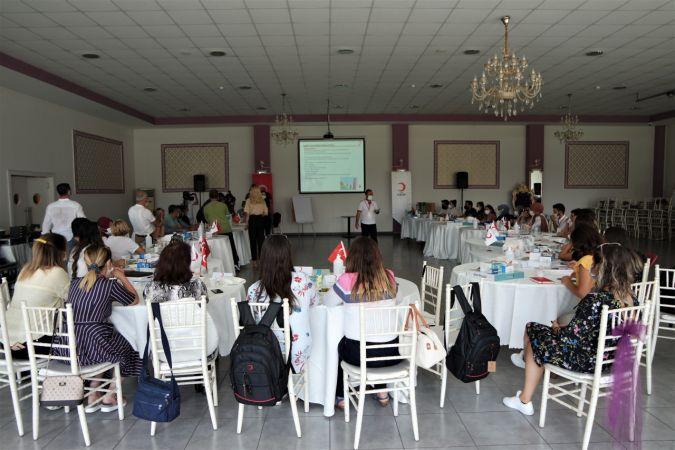 Türk Kızılay'dan Bursa'da önemli eğitim