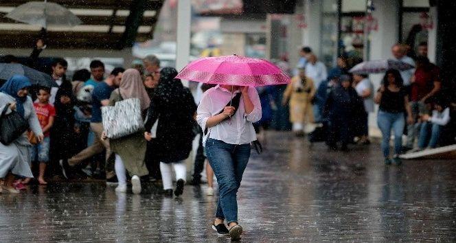 Bursa için önce sıcaklık uyarısı sonra yağmur