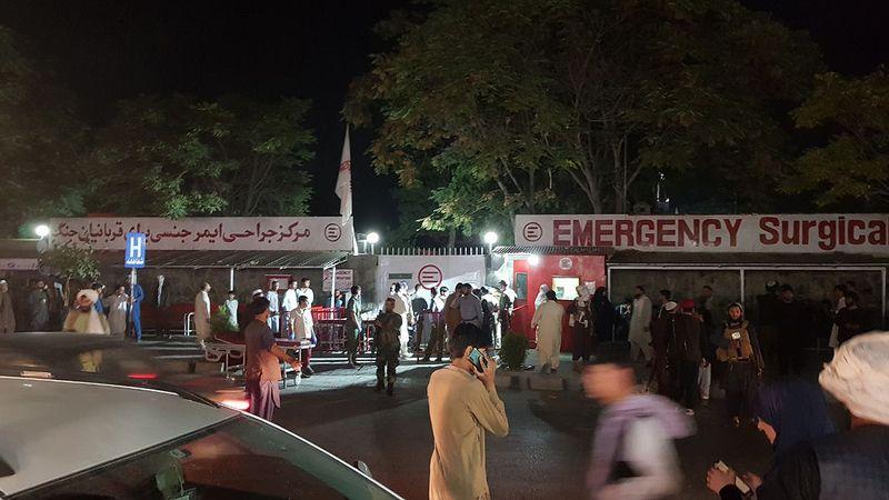 Afganistan'ın başkenti Kabil'de yer alan Hamid Karzai Uluslararası Havalimanı'nın bulunduğu bölgedeki terör saldırılarında 110'dan fazla kişi hayatını
