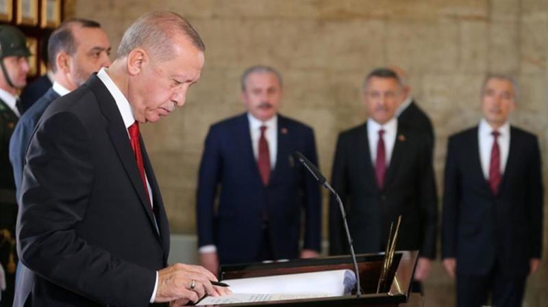 """Cumhurbaşkanı Recep Tayyip Erdoğan, 30 Ağustos Zafer Bayramı dolayısıyla yazılı bir mesaj yayınladı. Erdoğan mesajında, """"Cumhuriyetimizin banisi Gazi"""