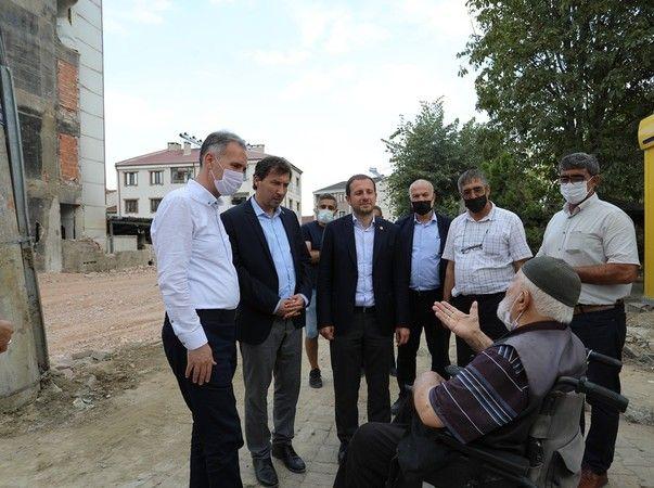 Adalet ve Kalkınma Parti Bursa Milletvekili Ahmet Kılıç, İnegöl ilçesinde temaslarda bulunmak üzere ziyaret gerçekleştirdi.