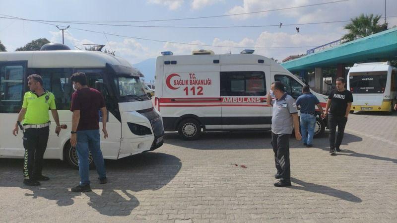 Bursa'da yaşlı adama minibüs çarptı