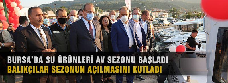Bursa'da balıkçılar suya geri döndü