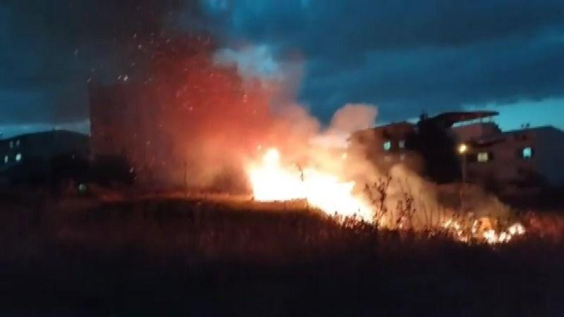 Bursa'nın Değirmenlikızık Mahallesinde gerçekleşen yangın mahalle sakinlerini korkuttu. Olası bir facia gerçekleşmeden itfaiye ekipleri olaya müdahale