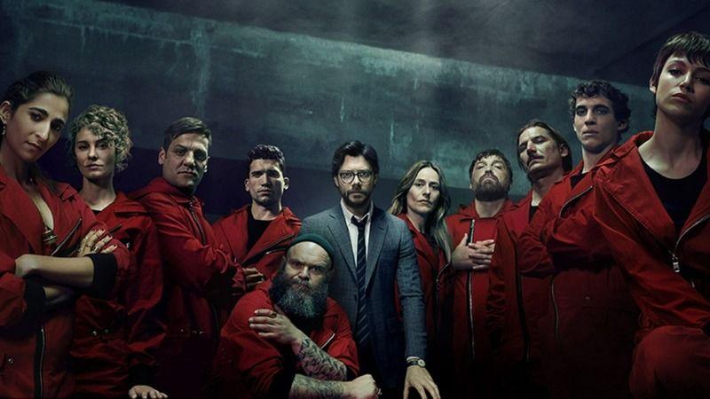 La Casa de Papel 5. sezon yayınlandı