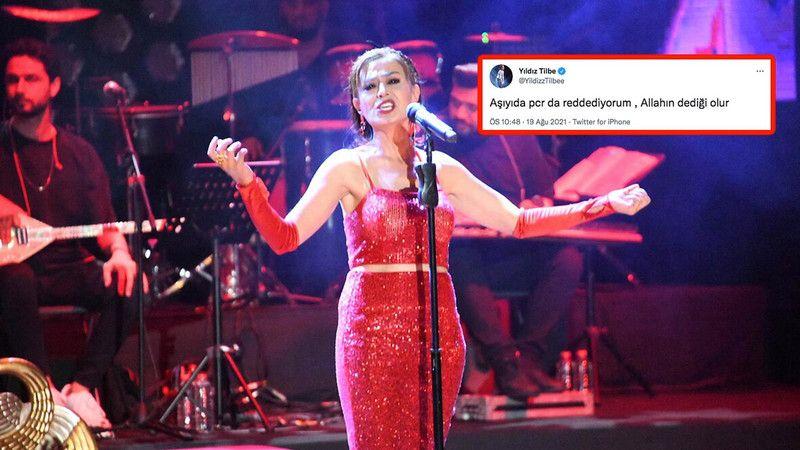 Kıbrıs'ta 18 Eylül günü vereceği konser iptal edilen Yıldız Tilbe'nin ilk doz koronavirüs aşısı olduğu iddia edildi. Yıldız Tilbe, konser iptali sonra