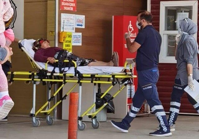 Bursa'nın İnegöl ilçesinde yaşanan olayda köpeklerin saldırısına uğrayan yaşlı kadın yaralandı.