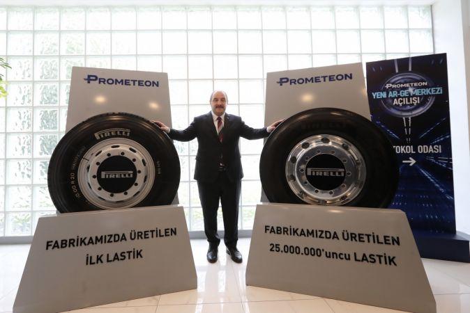Bakan Varank, Prometeon Ar-Ge Merkezi açılışında konuştu