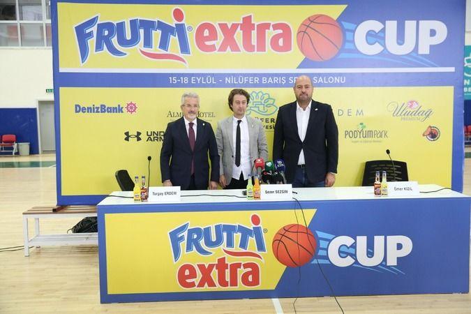 Frutti Extra Cup 15-18 Eylül tarihleri arasında gerçekleşecek. İlki yapılacak olan turnuvanın ilk maçı çarşamba günü Barış Spor Salonu'nda oynanacak.