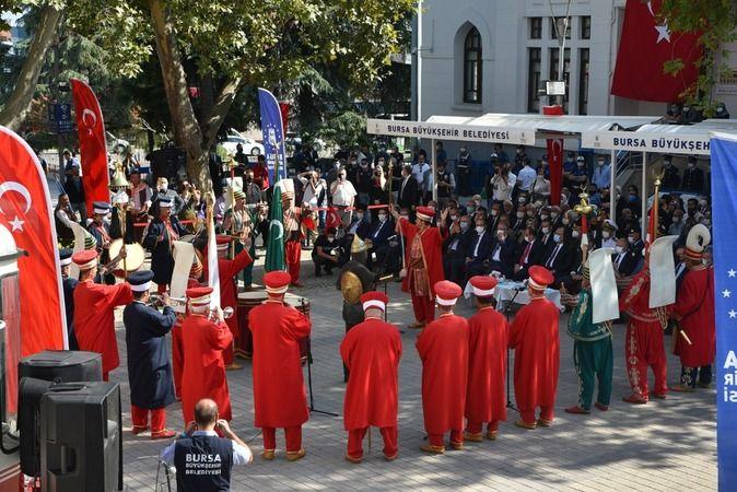 Bursa'nın kurtuluş yıldönümü coşkuyla kutlandı