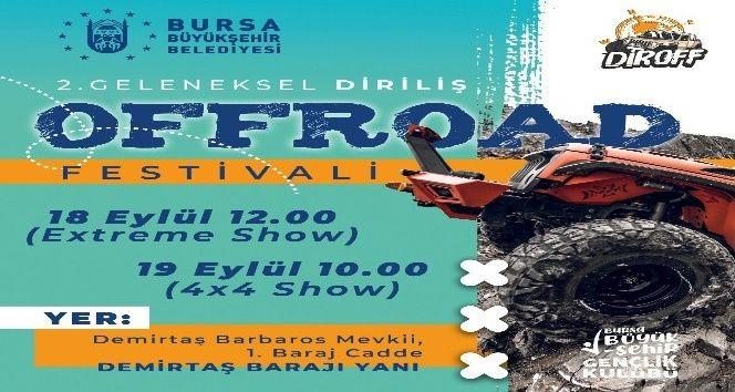 Bursa'da macera tutkunları buluşuyor