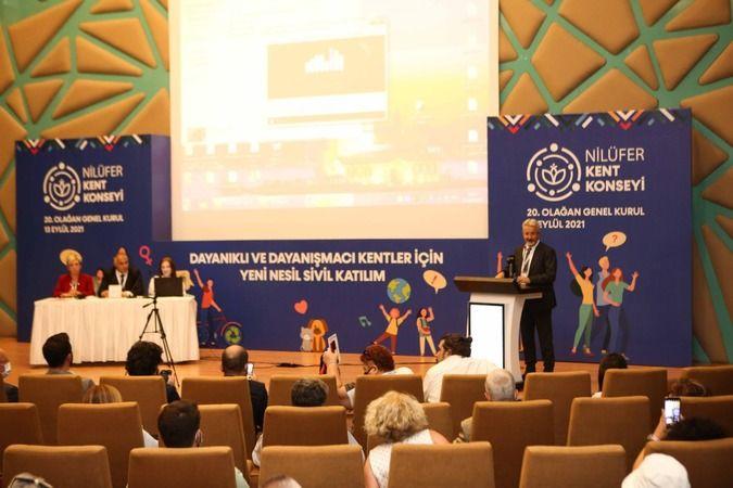 Nilüfer Kent Konseyi'nin 20. Olağan Genel Kurul Toplantısı Nilüfer Belediyesi Nikahevi'nde gerçekleştirildi. Genel kurulda alınan kararların başlıca o