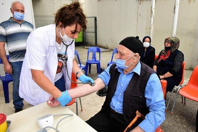Yıldırım Belediyesi ilçedeki vatandaşlara yönelik önleyici sağlık taramalarını ve eğitim çalışmalarını sürdürdü.
