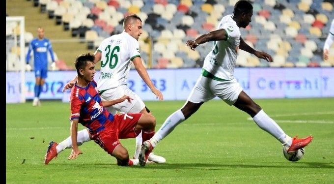 Bursaspor, TFF 1. Lig'de 4 hafta sonunda yalnızca bir puanda kalırken; 20 yıl sonra sezonun en kötü başlangıcını gerçekleştirdi. Yeşil beyazlılar, bu