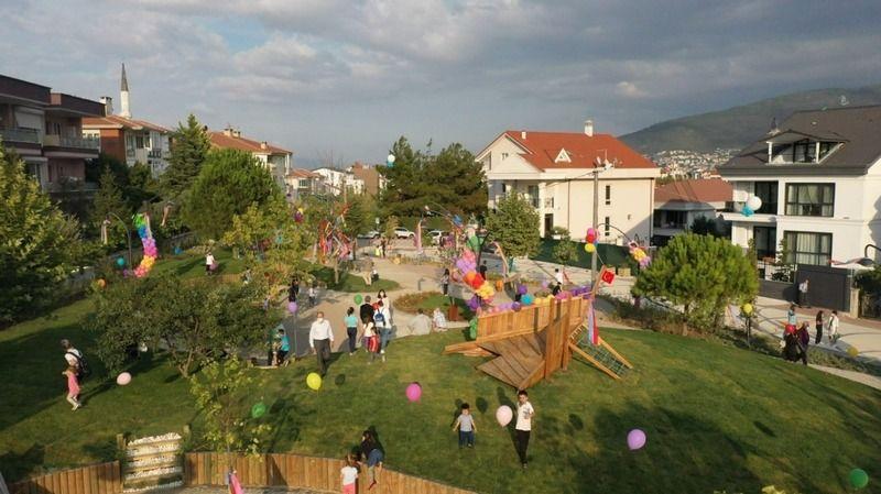 Nilüfer Belediyesi, Nilüfer Kent Konseyi ve Özel 3 Mart Beşevler Anaokulu'nun ortak yürüttüğü çalışma sonucu ortaya çıkan Çocuk Sokağı ve Parkı resmen